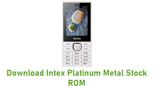 Download Intex Platinum Metal Stock ROM
