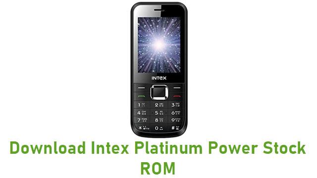 Download Intex Platinum Power Stock ROM