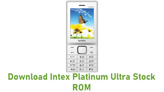 Download Intex Platinum Ultra Stock ROM