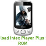 Intex Player Plus Stock ROM