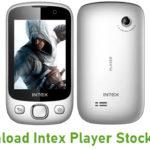 Intex Player Stock ROM