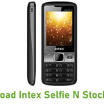 Intex Selfie N Stock ROM