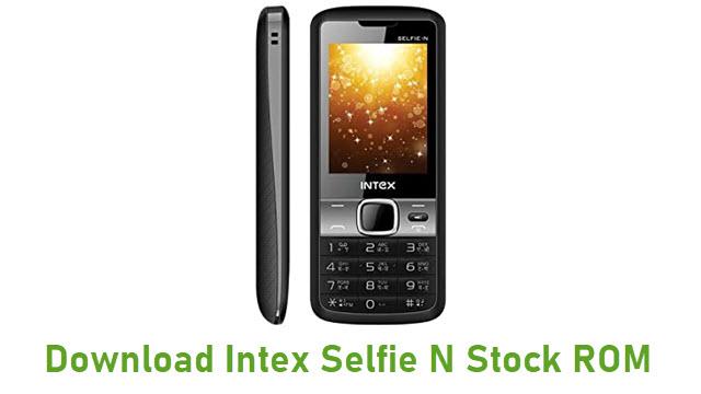 Download Intex Selfie N Stock ROM