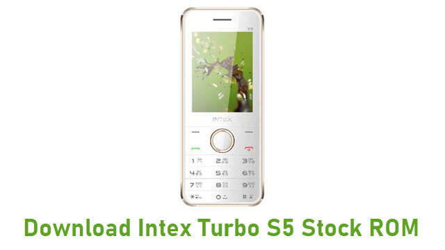 Download Intex Turbo S5 Stock ROM