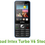 Intex Turbo V6 Stock ROM