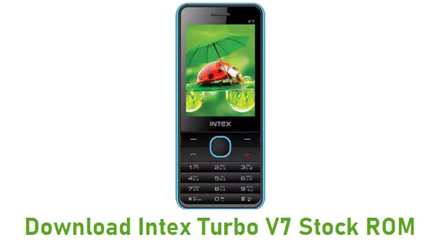 Download Intex Turbo V7 Stock ROM