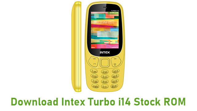 Download Intex Turbo i14 Stock ROM