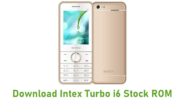 Download Intex Turbo i6 Stock ROM