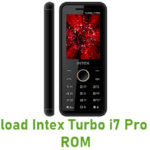 Intex Turbo i7 Pro Stock ROM