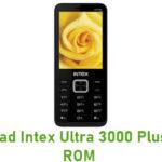Intex Ultra 3000 Plus Stock ROM