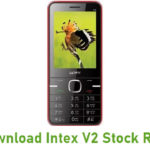 Intex V2 Stock ROM