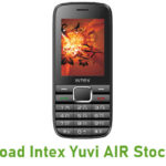 Intex Yuvi AIR Stock ROM