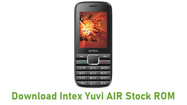 Download Intex Yuvi AIR Stock ROM