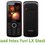 Intex Yuvi LX Stock ROM