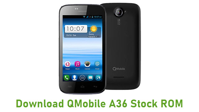 Download QMobile A36 Stock ROM