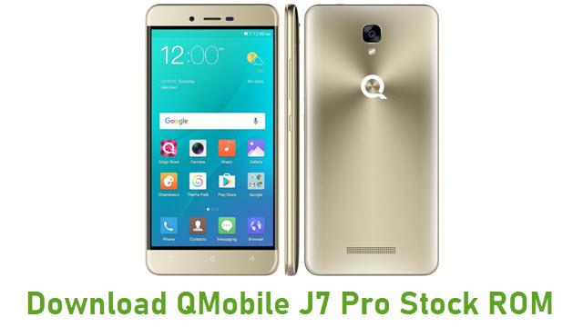 Download QMobile J7 Pro Stock ROM