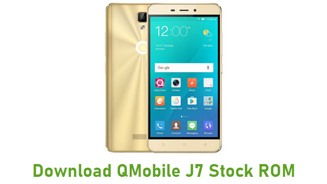 Download QMobile J7 Stock ROM