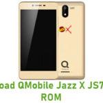 QMobile Jazz X JS7 Stock ROM