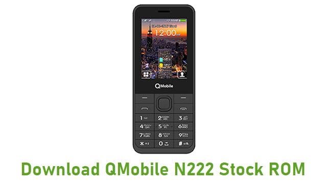 Download QMobile N222 Stock ROM
