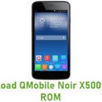 QMobile Noir X500 Stock ROM