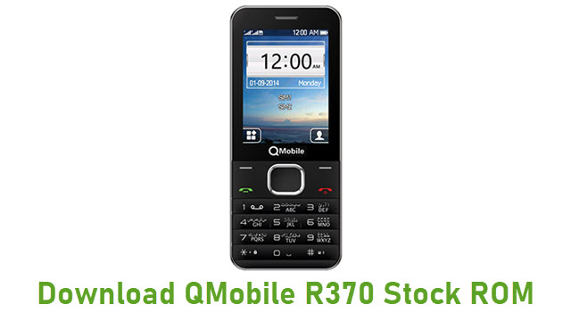 Download QMobile R370 Stock ROM