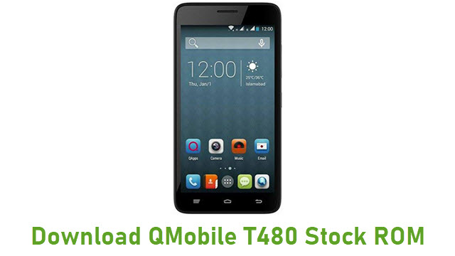 Download QMobile T480 Stock ROM
