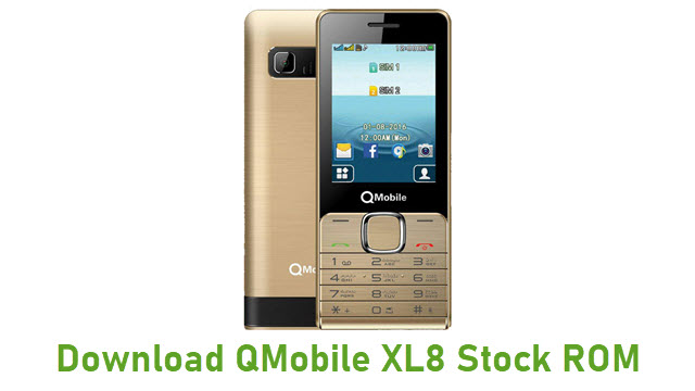 Download QMobile XL8 Stock ROM