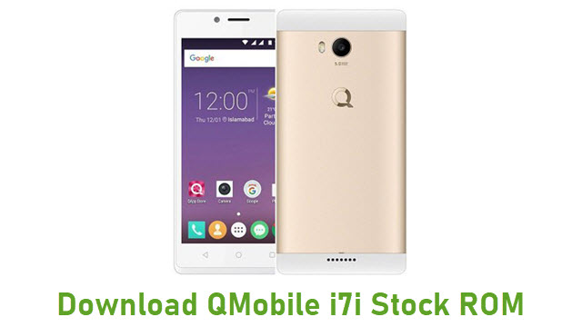 Download QMobile i7i Stock ROM
