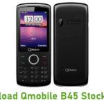 Qmobile B45 Stock ROM