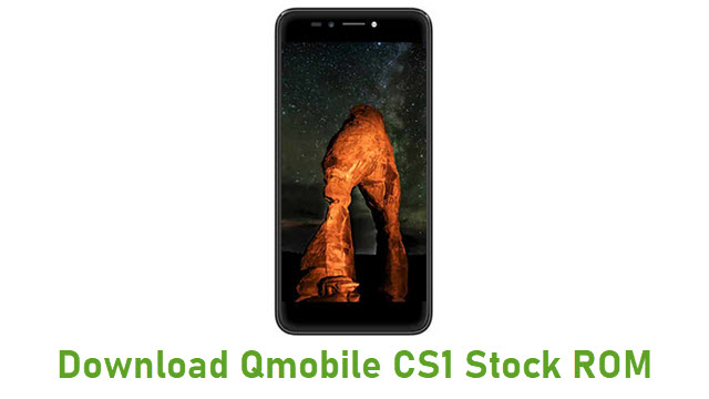 Download Qmobile CS1 Stock ROM