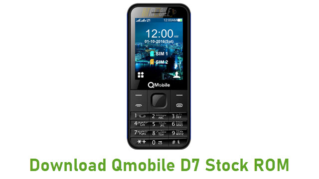 Download Qmobile D7 Stock ROM