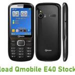 Qmobile E40 Stock ROM