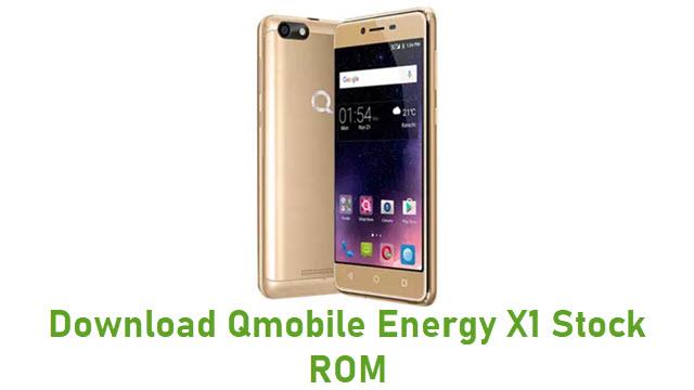 Download Qmobile Energy X1 Stock ROM