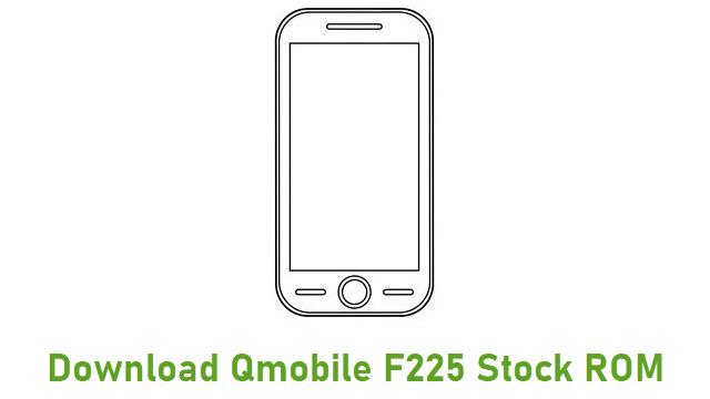 Download Qmobile F225 Stock ROM