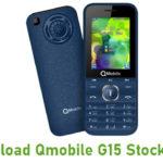 Qmobile G15 Stock ROM