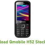 Qmobile H52 Stock ROM