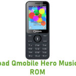 Qmobile Hero Music Stock ROM
