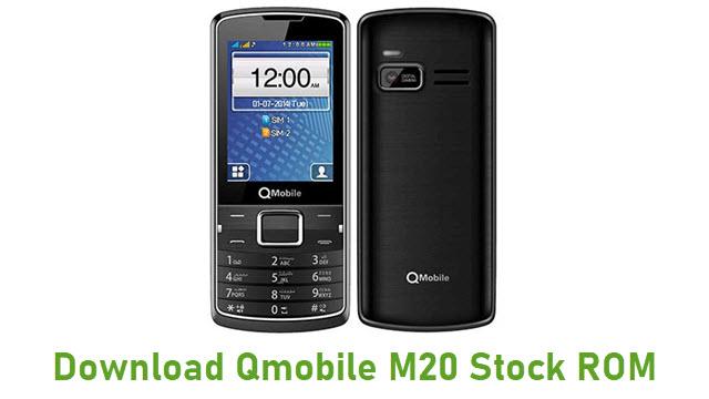 Download Qmobile M20 Stock ROM