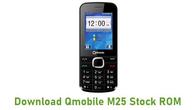 Download Qmobile M25 Stock ROM