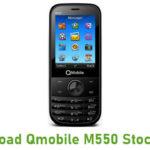 Qmobile M550 Stock ROM