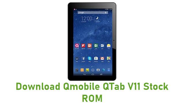 Download Qmobile QTab V11 Stock ROM