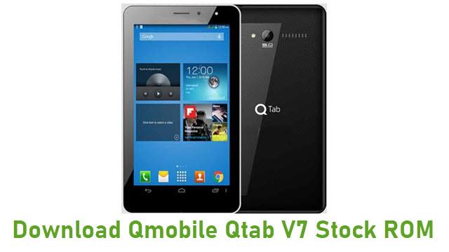 Download Qmobile Qtab V7 Stock ROM