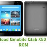 Qmobile Qtab X50 Stock ROM