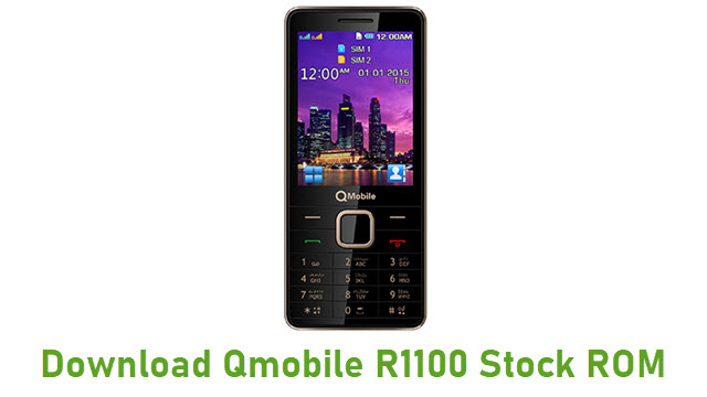 Download Qmobile R1100 Stock ROM