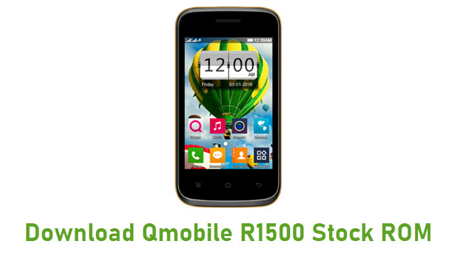 Download Qmobile R1500 Stock ROM