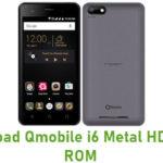 Qmobile i6 Metal HD Stock ROM