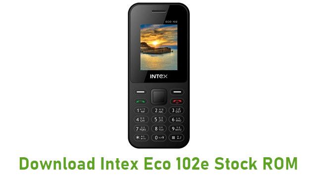Intex Eco 102e Stock ROM