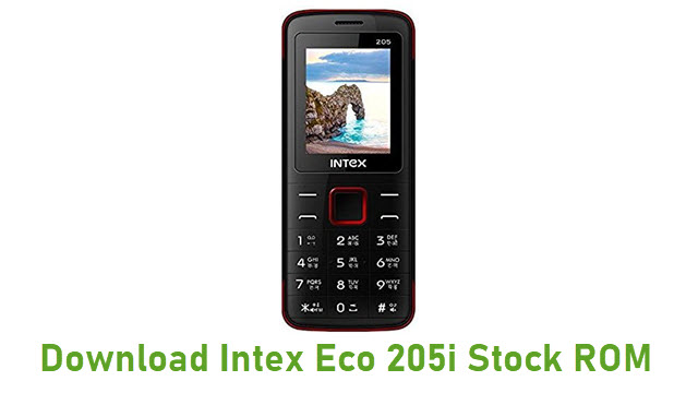 Intex Eco 205i Stock ROM