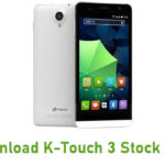 Download K-Touch 3 Stock ROM