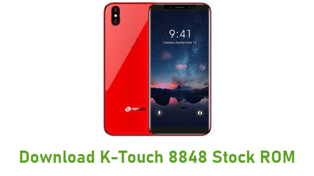 Download K-Touch 8848 Stock ROM